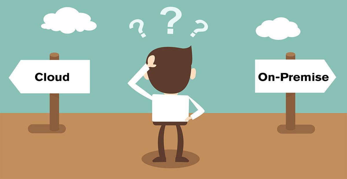 "Cloud Computing vs ""On-premise"""